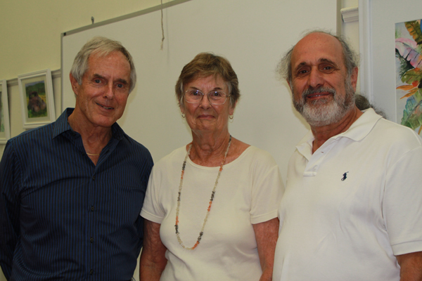 Richard Fitchen, Nancy Johnson, Philippe de Vosjoli
