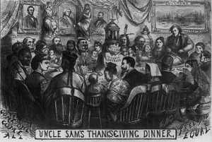 Uncle Sam's Thanksgiving