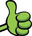 Frog thumbsup