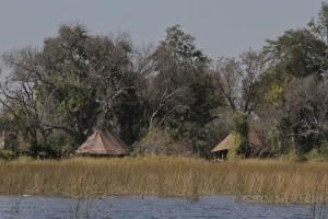 Sleeping Tents Okavanga Delta, Botswana